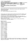 ČSN DIN 51900-1 Zkoušení tuhých a kapalných paliv - Stanovení spalného tepla v tlakové nádobě kalorimetru a výpočet výhřevnosti - Část 1: Obecné informace, základní vybavení a metoda