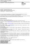 ČSN EN 16482 Slévárenství - Plynule odlévané litinové tyče