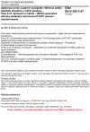 ČSN EN 61300-3-47 Spojovací prvky a pasivní součástky vláknové optiky - Základní zkušební a měřicí postupy - Část 3-47: Zkoušení a měření - Měření geometrie sféricky leštěného čela ferule PC/APC pomocí interferometrie