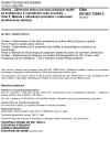 ČSN EN ISO 12945-3 Textilie - Zjišťování sklonu povrchu plošných textilií ke žmolkování, k rozvláknění nebo zcuchání - Část 3: Metoda s náhodným pohybem v bubnovém žmolkovacím přístroji