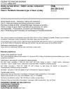 ČSN EN 326-2 +A1 Desky na bázi dřeva - Odběr vzorků, nařezávání a kontrola - Část 2: Počáteční zkoušení typu a řízení výroby
