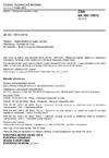 ČSN EN ISO 15512 Plasty - Stanovení obsahu vody