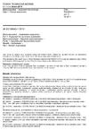 ČSN EN 60645-1 ed. 2 Elektroakustika - Audiometrické přístroje - Část 1: Tónové audiometry