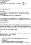 ČSN EN 60793-1-43 ed. 2 Optická vlákna - Část 1-43: Měřicí metody a zkušební postupy - Měření numerické apertury