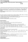 ČSN EN 1427 Asfalty a asfaltová pojiva - Stanovení bodu měknutí - Metoda kroužek a kulička
