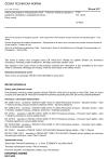 ČSN EN 14433 Nádrže pro přepravu nebezpečného zboží - Vybavení nádrží pro přepravu kapalných chemikálií a zkapalnělých plynů - Patní ventily