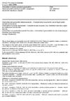 ČSN EN 13265 +A1 Geotextilie a výrobky podobné geotextiliím - Vlastnosti požadované pro použití v projektech zadržování kapalných odpadů